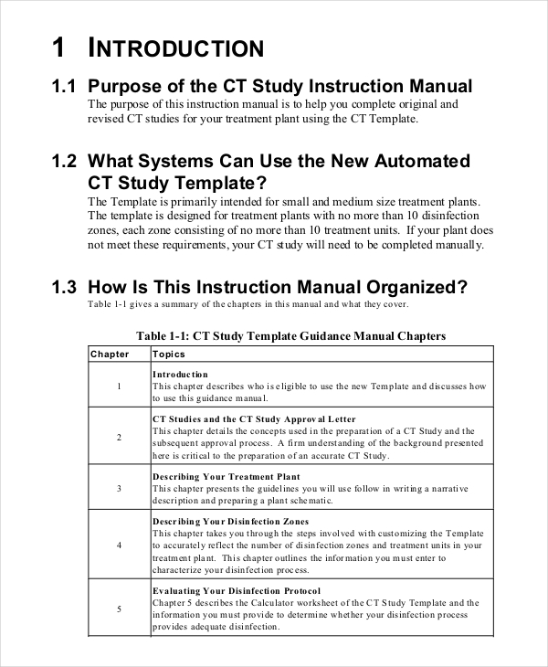 CT  Instruction Manual Template