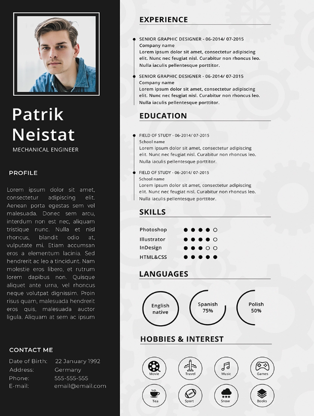 10 Mechanical Engineering Resume Templates