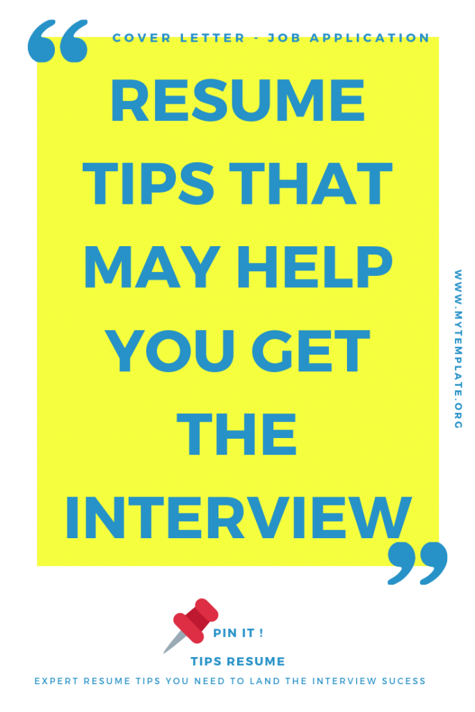 40+ Resume Tips That May Help You Get The Interview