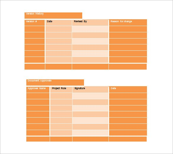 training schedule format free download