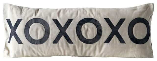 A Cover Letter Should Include Of Huuuge Xoxoxo Long Applique Pillow