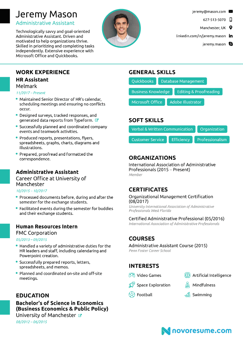 Best Administrative assistant Resume Of Administrative assistant Resume [2021] Guide & Examples