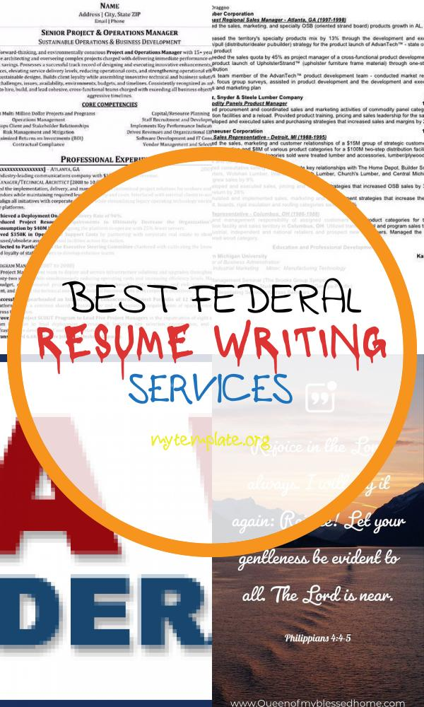 Best Online Resume Writing Services Federal Federal Resume Writing Secrets