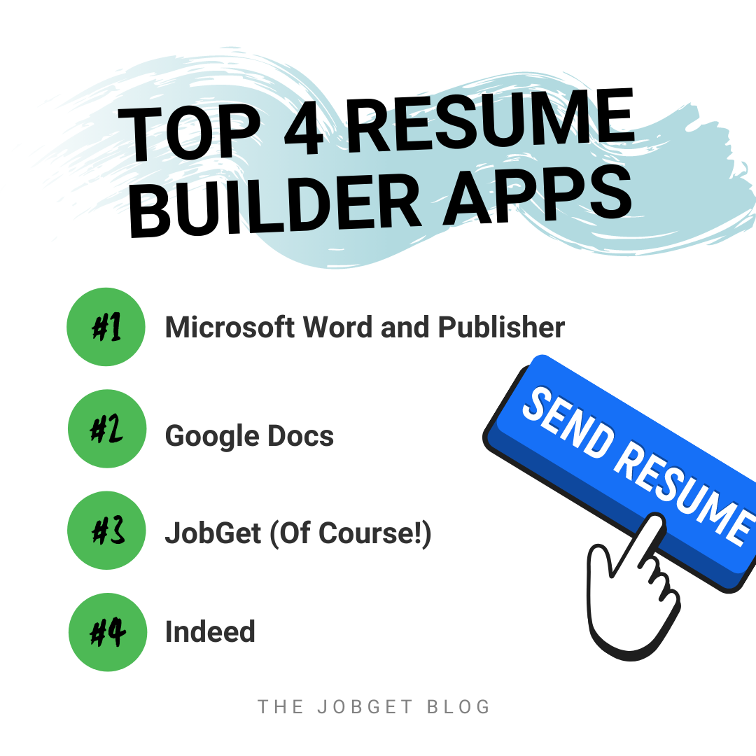 Best Free Resume Builder App Of Free Resume Builder Apps
