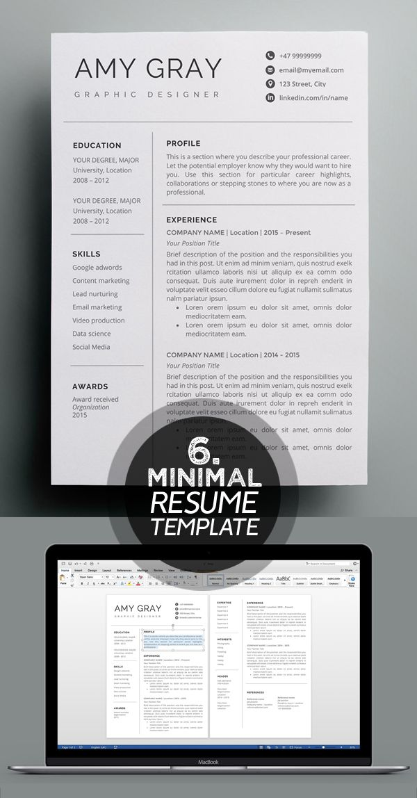 cover letter template job seekers of 25 best minimalism