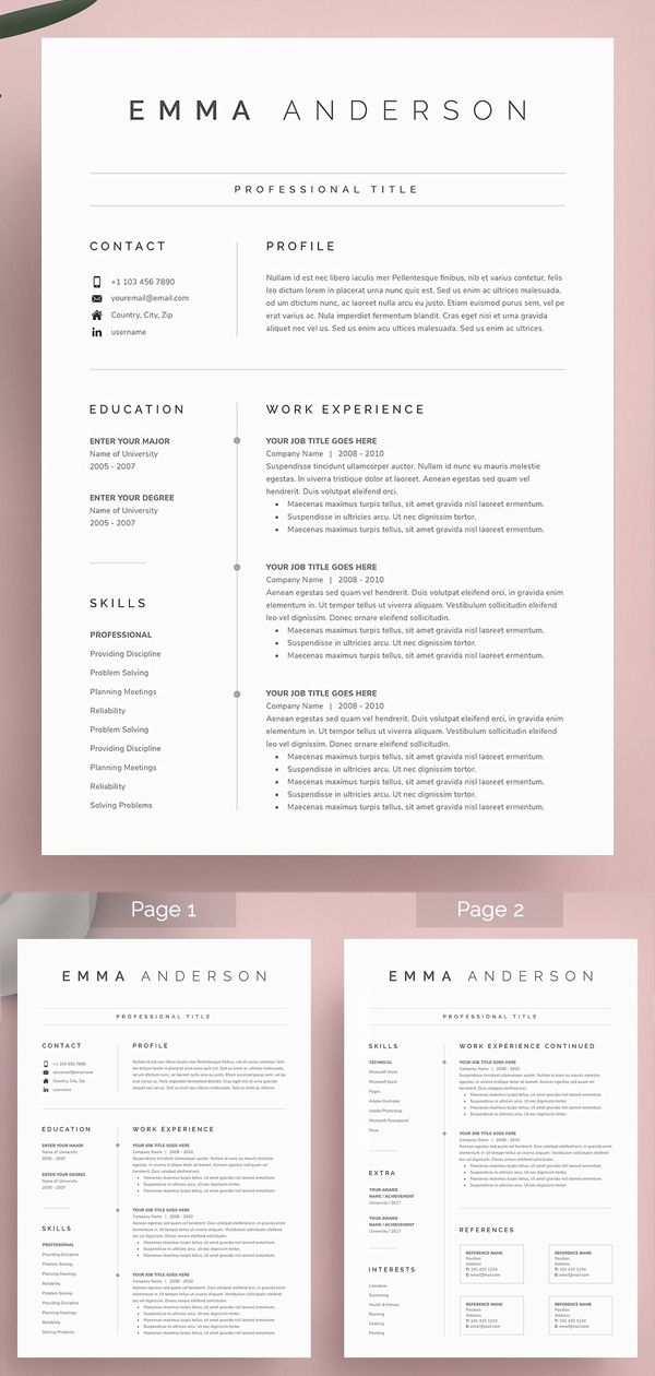 Email for Resume and Cover Letter Of Word Resume & Cover Letter