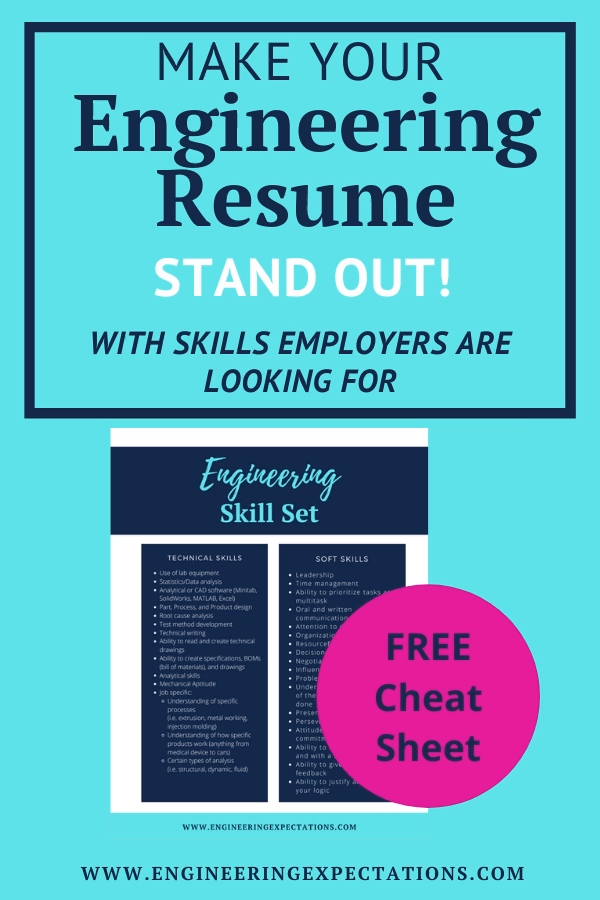 Engineering Skills for Resume Of Make Your Engineering Resume Stand Out