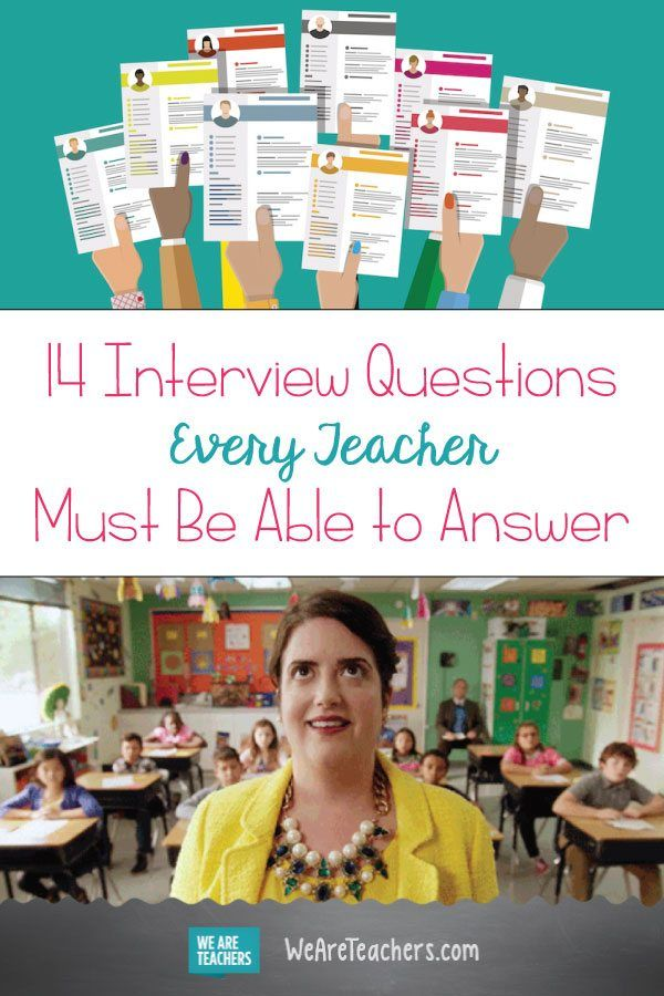 Example Of Resume Letter for Teacher Of 18 Interview Questions Every Teacher Must Be Able to Answer