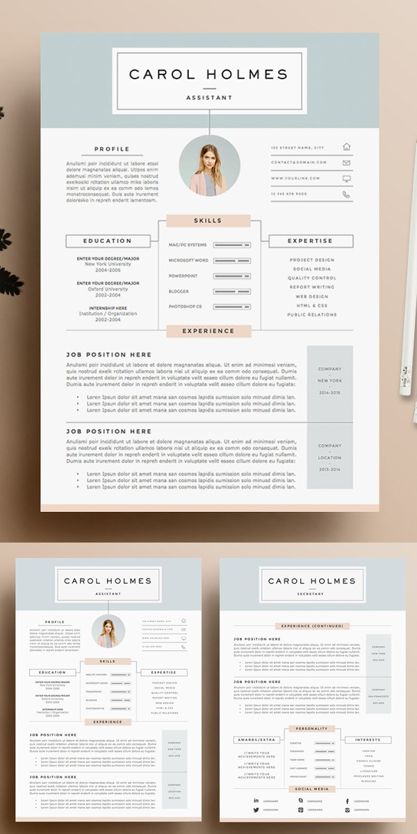 Free Functional Resume Template Of Creative Clean Resume Cv Templates Graphics Design