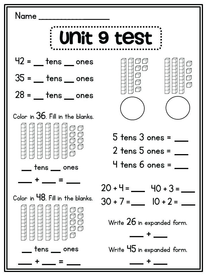 Grade 2 Mathematics Worksheets Of 21 Place Value Worksheets Grade 2 Place  Value Expanded Form Worksheets - Free Templates