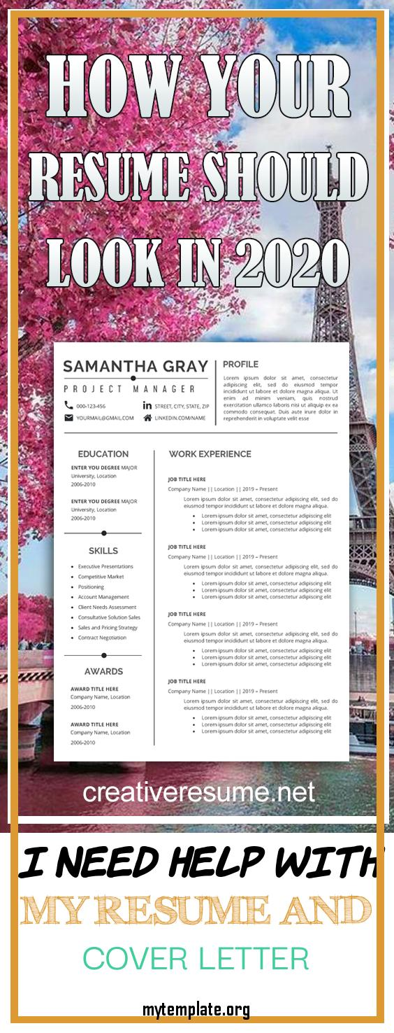 i need help with my resume and cover letter of resume