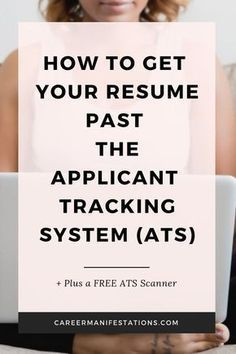 Part Time Job Resume Example Of How to Get Your Resume Past the Applicant Tracking System ats Career Manifestations