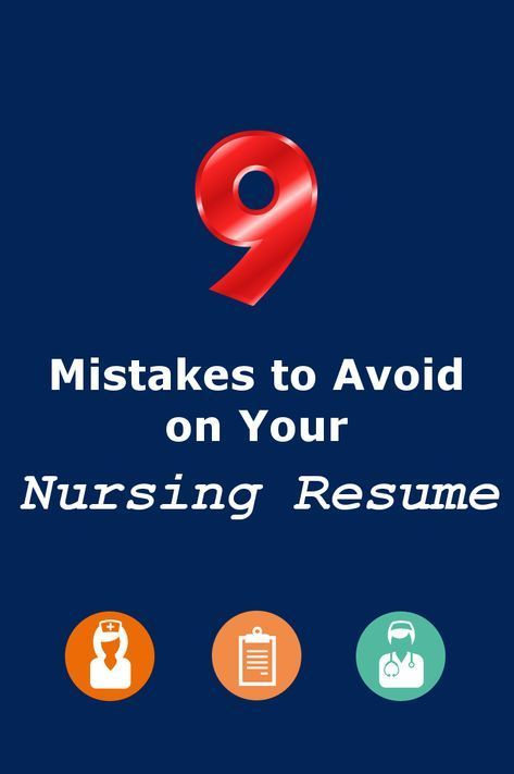 Professional Nursing Resume Examples Of 9 Mistakes to Avoid On Your Nursing Resume Bluepipes Blog