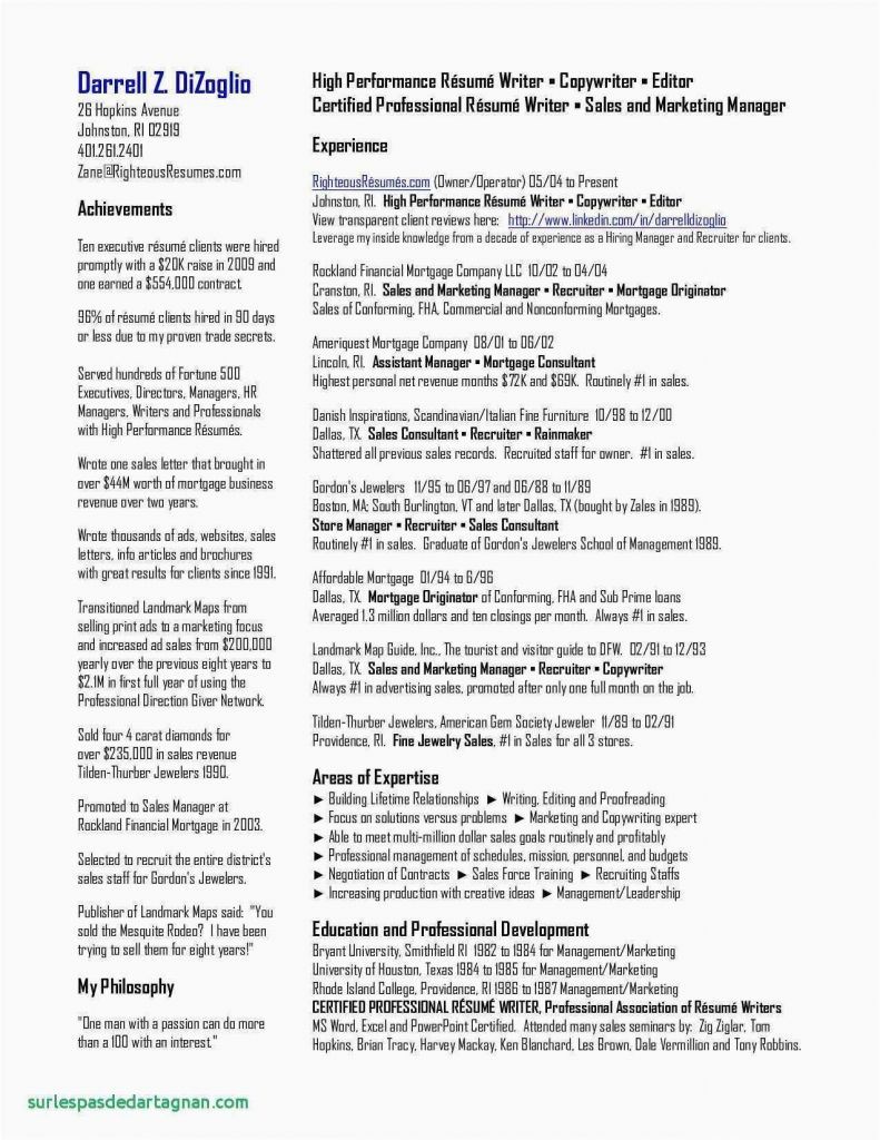 Professional Resume Templates Of 10 Free Resume Templates for Libreoffice