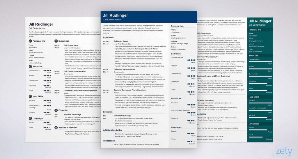 Professional Resume Templates Of How to Make A Resume for A Job [from Application to