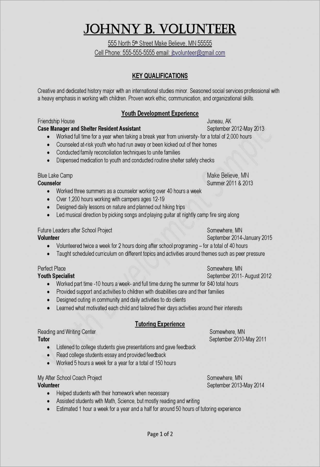 Professional Resume Templates Of Resume Template Zety Sample