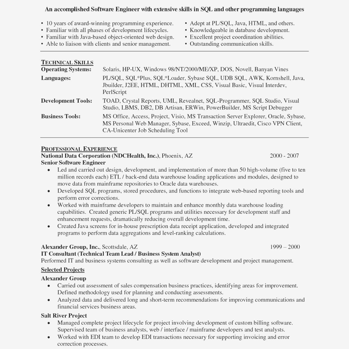 Python Developer Resume Of Python Projects for Resume Python Resume Sample New Python Developer Sample Resume Web