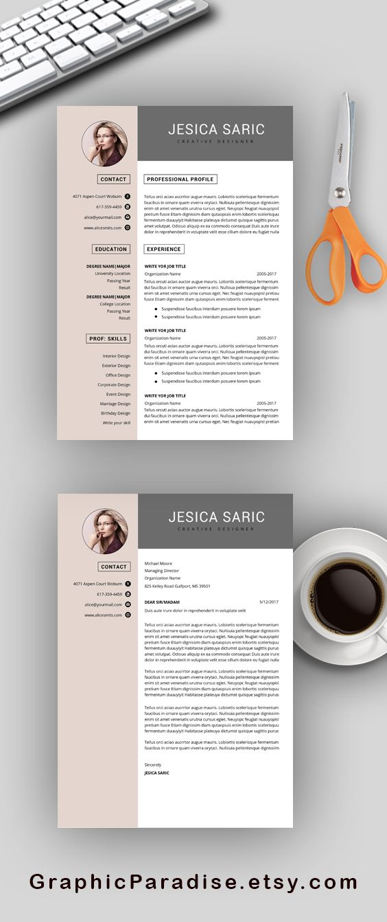 Recruiters Resume Of Professional Cv Template Resume Templates for Microsoft Word