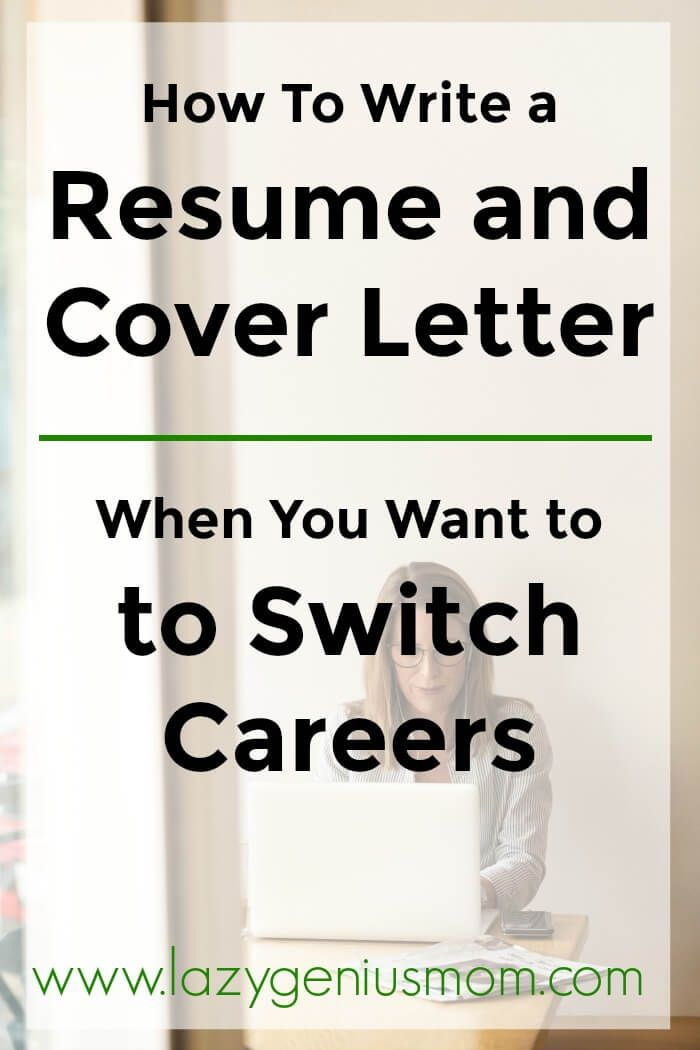 Resume and Cover Letter Writer Of How to Change Your Cover Letter and Resume when You Want to Switch Careers [4 Steps]