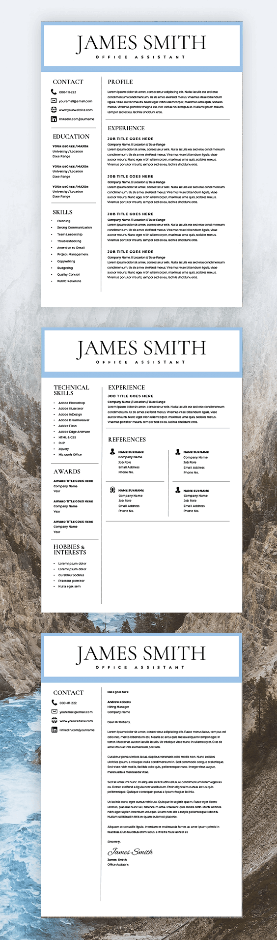 Resume and Cover Letter Writer Of Resume Template for Men Writer Resume Template for Word & Pages 2 Pages Resume Cover Letter Curriculum Vitae Instant Download Cv