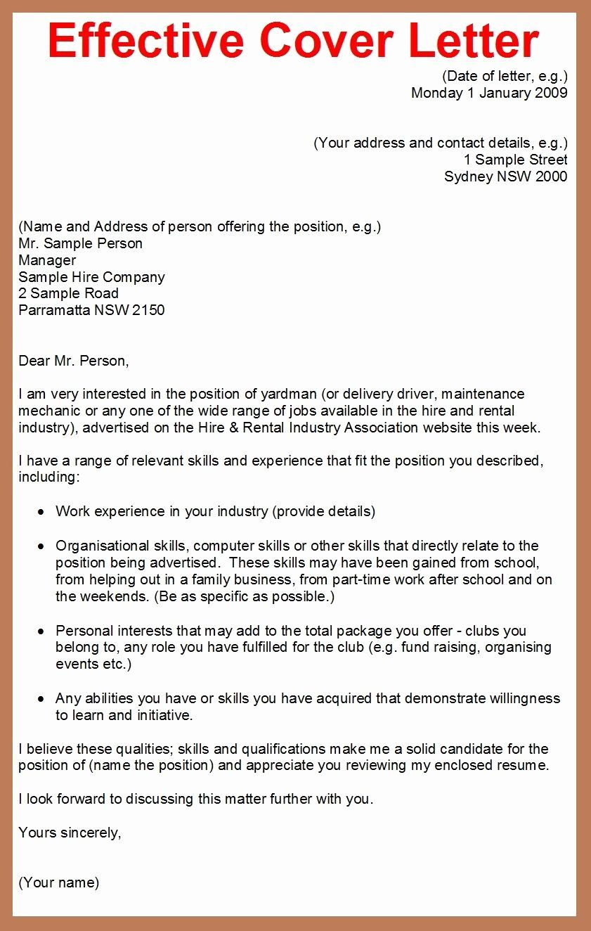 Resume Cover Letter Examples Of Cover Letter for Employment Lovely How to Write A Cover Letter for A Job Application Google