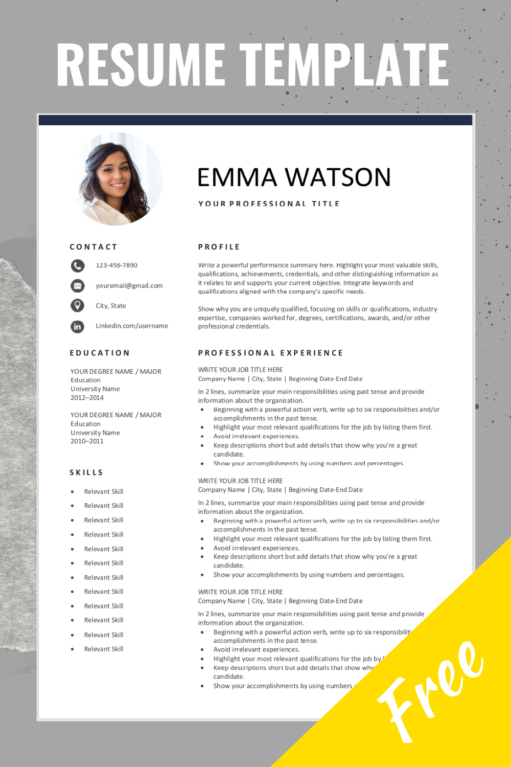 resume template free editable layout of are you looking