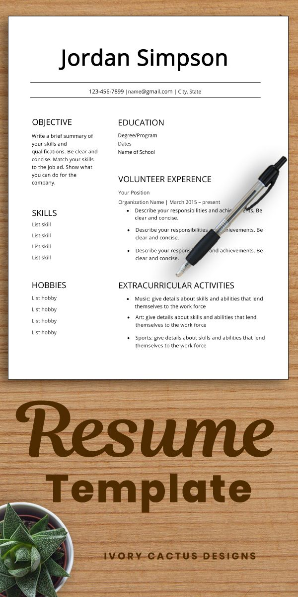 Resume with No Job Experience Of Student Resume Template