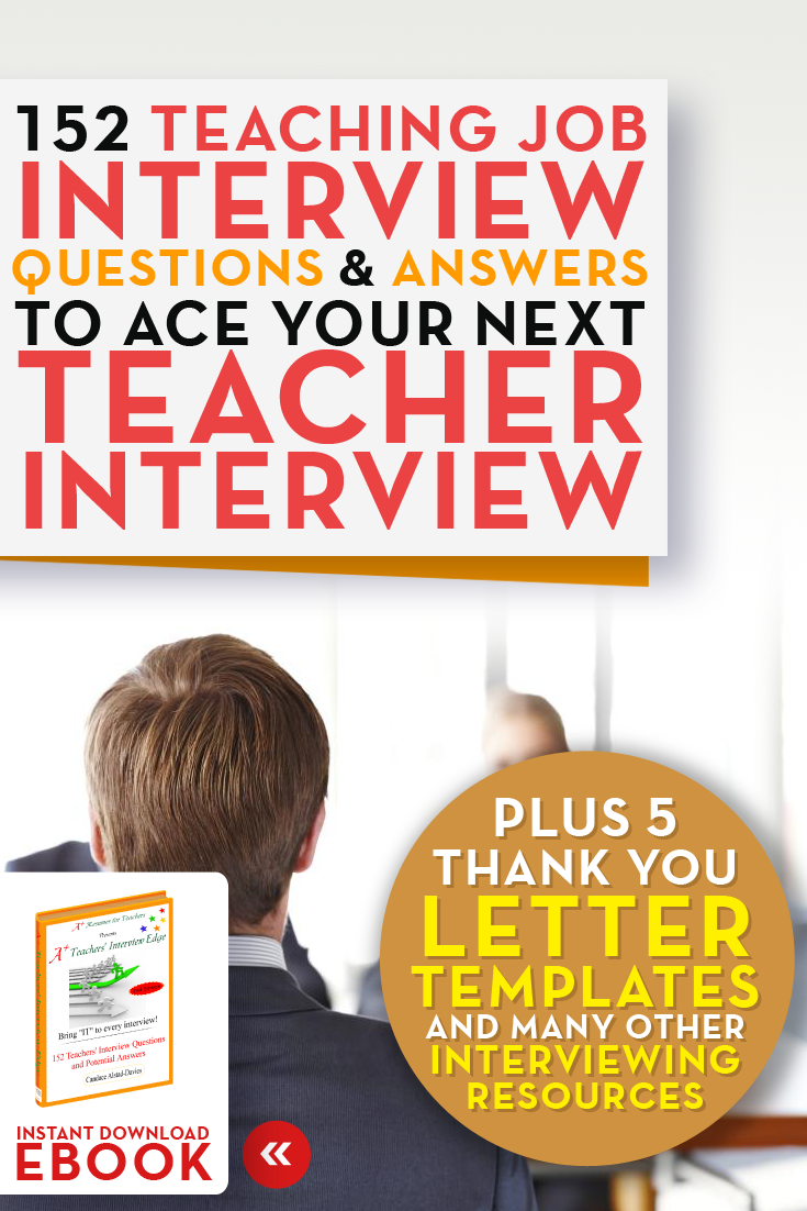 Resumes for Teachers Of Teaching Job Interview Questions ...