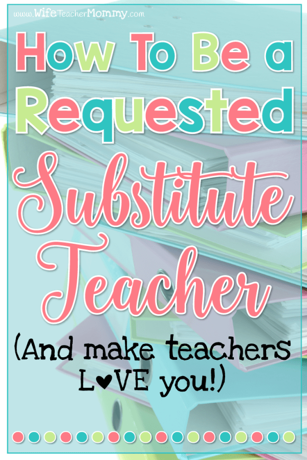 Sample Substitute Teacher Resume Of 5 Things Your Emergency Sub Plans Must Include