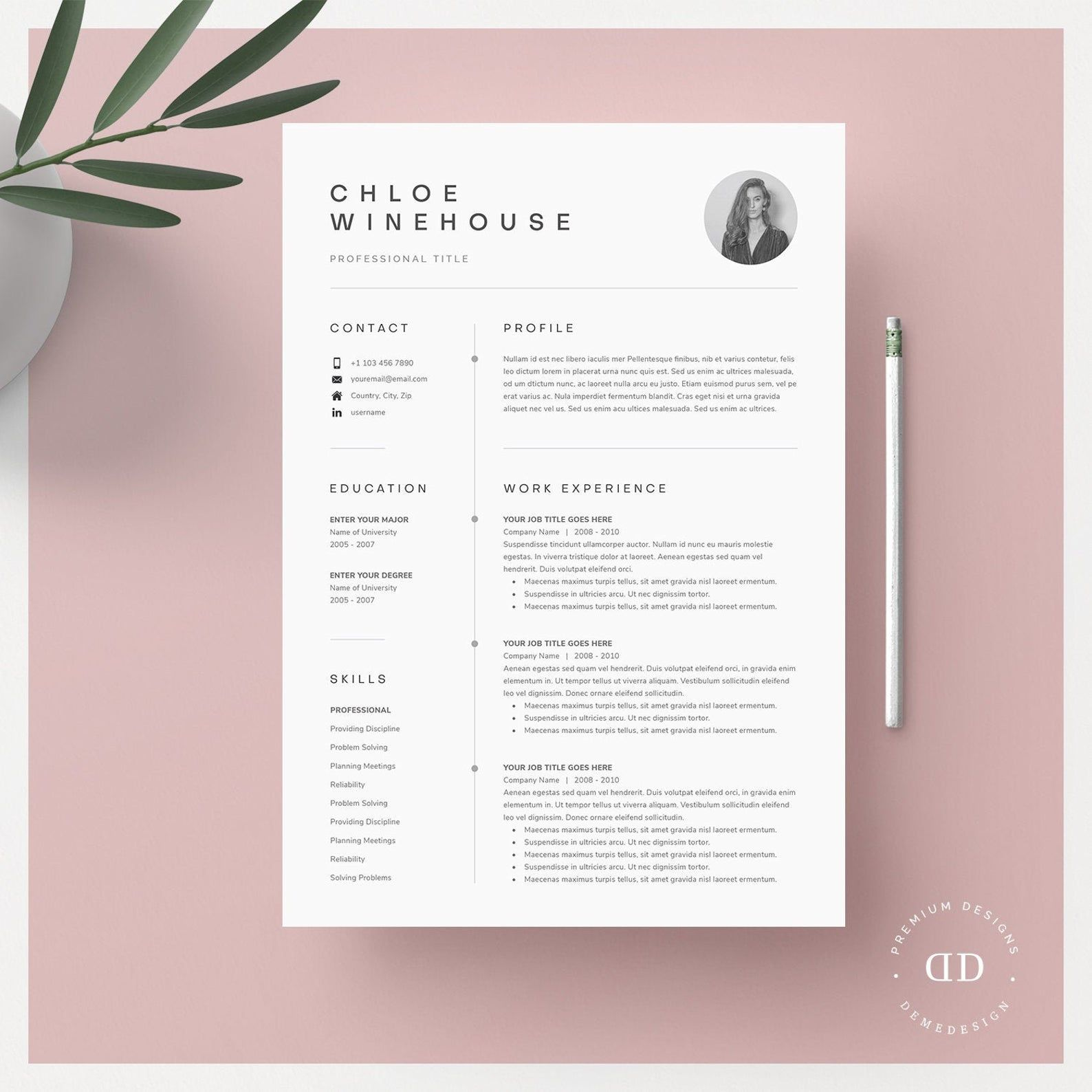Sending A Cover Letter and Resume by Email Of Resume Template Resume Template Word Resume with Picture Cv Cv Template Resume with Cover Letter Professional Resume Template Resume