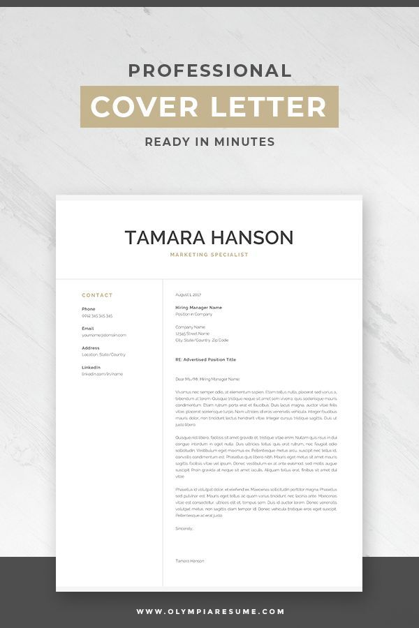 Simple Cover Letter for Resume Samples Of Professional Cover Letter Template