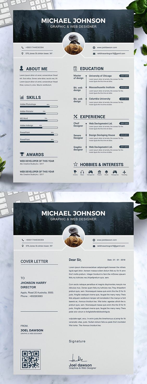 Simple Resume Template Free Of Cv Template with Professional Resume Design for Word