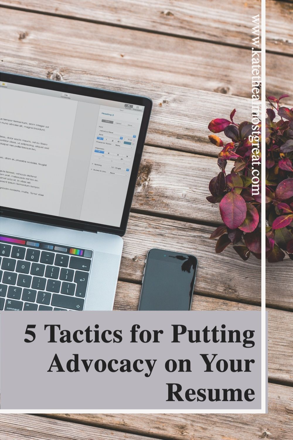 Summary Section Of Resume Of Resume Tips 5 Tactics for Putting Advocacy On Your Resume