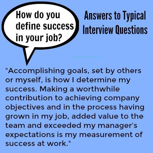 Who are You Interview Question Of How to Answer Interview Questions About Job Success