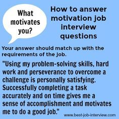 Who are You Interview Question Of top Interview Questions and Answers What Motivates You