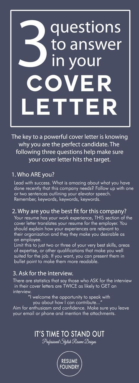 Writing A Cover Letter for A Job Of Resume Foundry